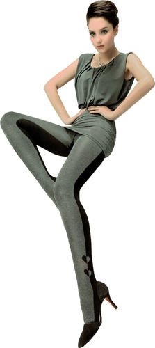 Fashion two colors tight (grey/black)