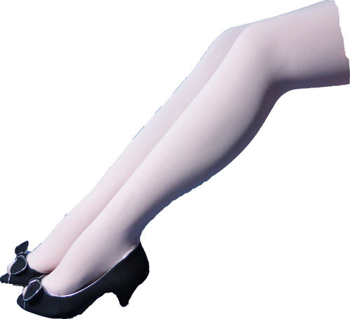 ITAGO Fashion Color Pantyhose - pink color