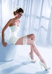 Wedding Collection Princessa Calze 07 Overknees