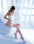 Wedding Collection Princessa Calze 11 Fishnet-Overknees