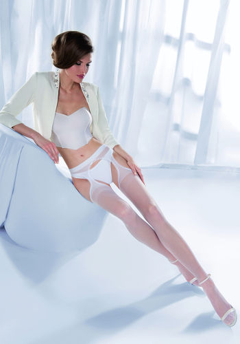 Wedding Collection Princessa Calze 12 Strip Panty Tights