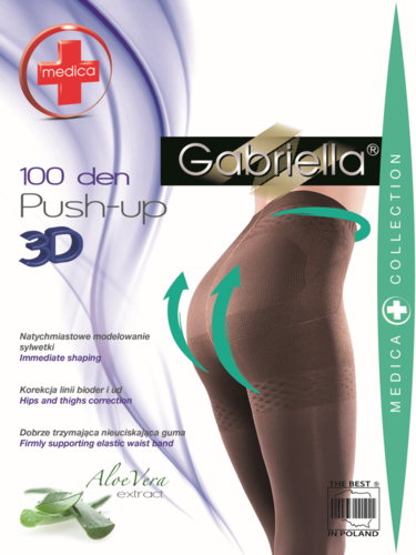 Gabriella Medica Push-Up 3D 100den Pantyhose