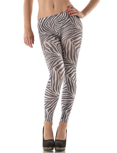 Zebra Legging von Hotlook