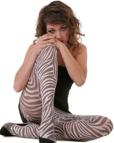 Zebra Pantyhose from Hotlook