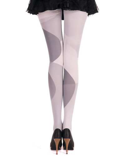 Disco Tights big dots grey from Hotlook