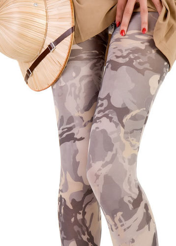 Camouflage Pantyhose from Hotlook